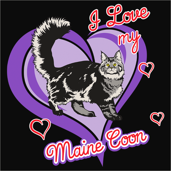 Maine Coon Cat - (DSN-10715)