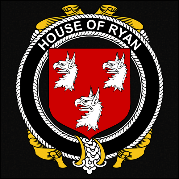 Irish House Heraldry Ryan - (DSN-15503)