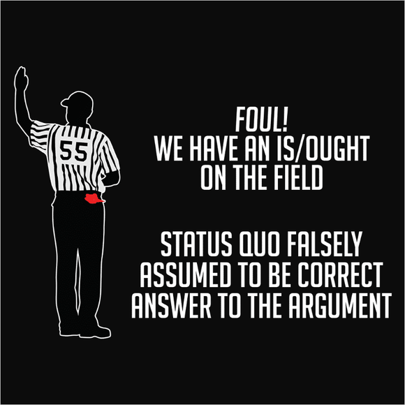 Is Ought Logical Fallacy - (DSN-20065)