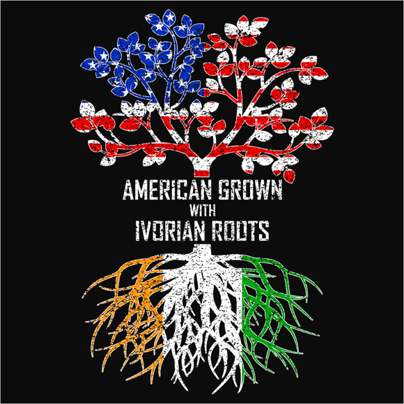American Grown with Ivorian Roots - (DSN-11429)