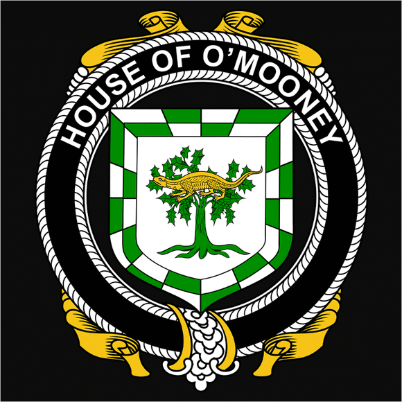 Irish House Heraldry O'Mooney - (DSN-15464)