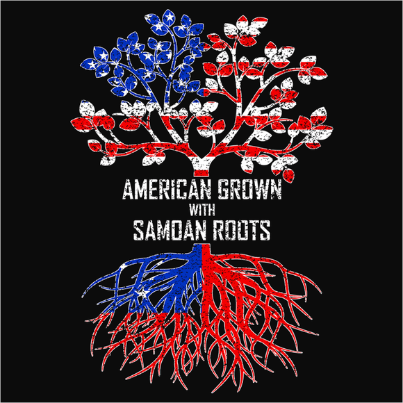 American Grown with Samoan Roots - (DSN-11569)