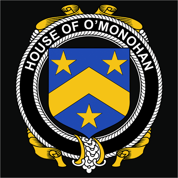 Irish House Heraldry O'Monohan - (DSN-15463)