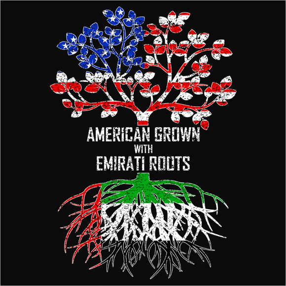 American Grown with Emirati Roots - (DSN-11614)