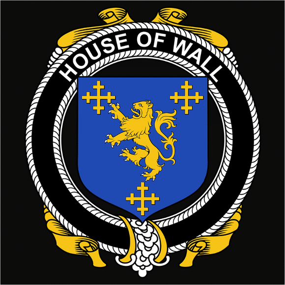Irish House Heraldry Wall - (DSN-15508)