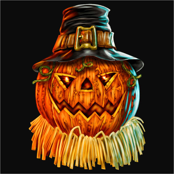 Pumpkin with Hat - (DSN-10458)