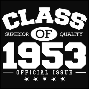Class of 1953 - (DSN-10812)