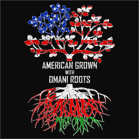 American Grown with Omani Roots - (DSN-11545)