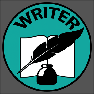 Writer Badge - (DSN-20117)