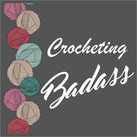Crocheting Badass Border - (DSN-10024)