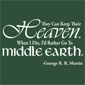 I'd Rather Go To Middle Earth - (DSN-10267)