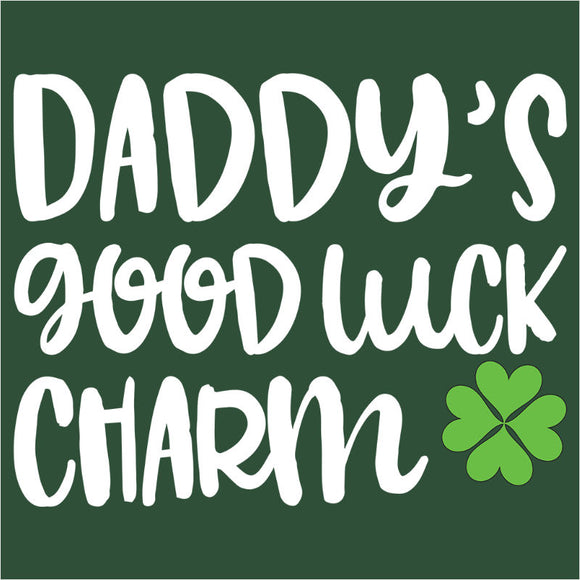 Daddy's Good Luck Charm Clover - (DSN-17971)