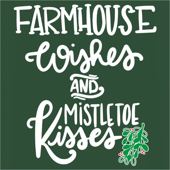 Farmhouse Wishes and Mistletoe Kisses - (DSN-17495)