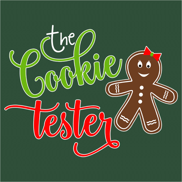 The Cookie Tester Gingerbread - (DSN-15195)