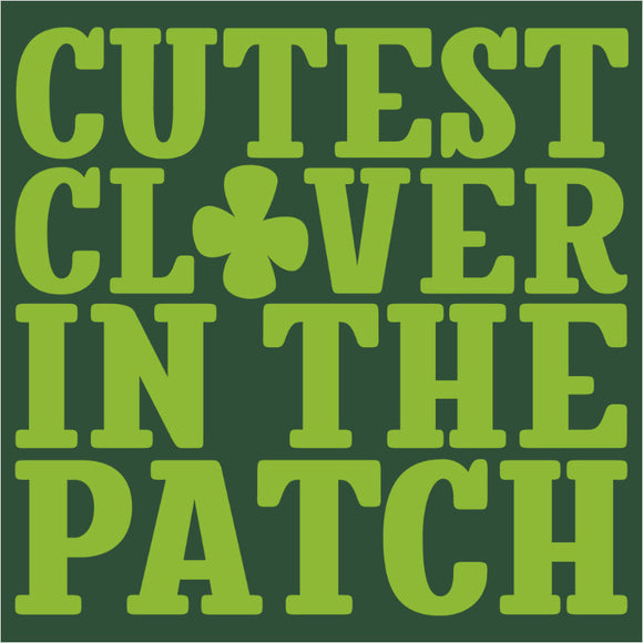 Cutest Clover in the Patch Block - (DSN-17957)