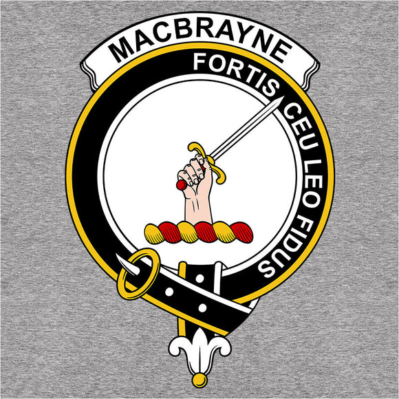 Scottish Clan Crest Badge MacBrayne - (DSN-12073)