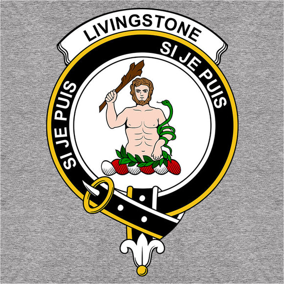Scottish Clan Crest Badge Livingstone - (DSN-12061)