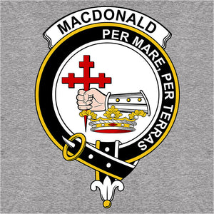 Scottish Clan Crest Badge MacDonald, Clan Donald - (DSN-12077)