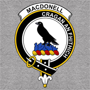 Scottish Clan Crest Badge MacDonell of Glengarry - (DSN-12080)