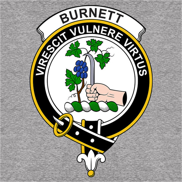 Scottish Clan Crest Badge Burnett - (DSN-11935)