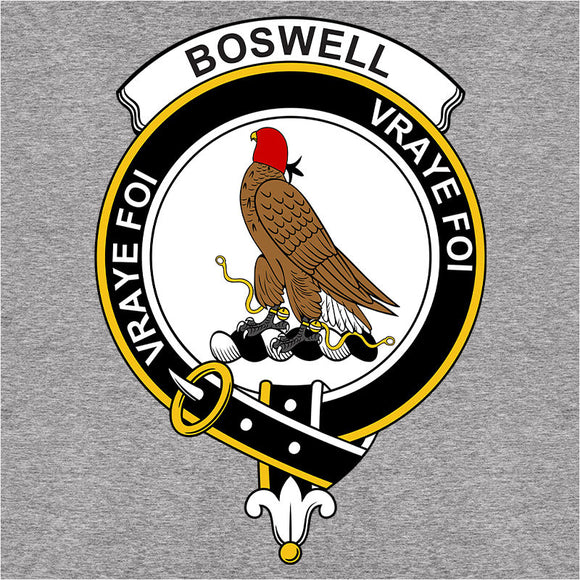 Scottish Clan Crest Badge Boswell - (DSN-11926)