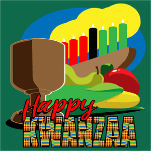 Happy Kwanzaa - (DSN-11374)