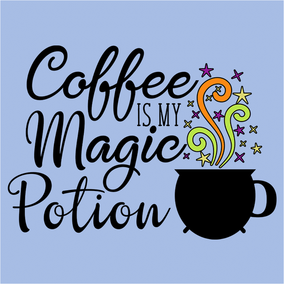 Coffee is my Magic Potion - (DSN-14904)