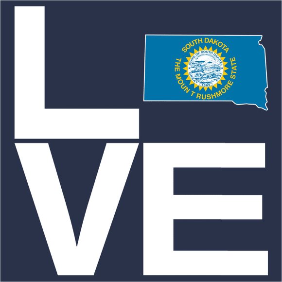 LOVE South Dakota - (DSN-14784)