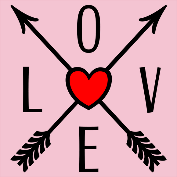 LOVE Direction Arrows - (DSN-17786)