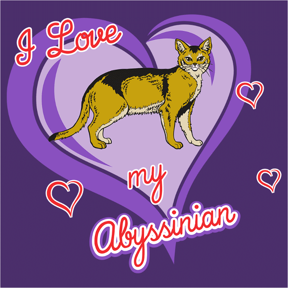 Abyssinian Cat - (DSN-10716)