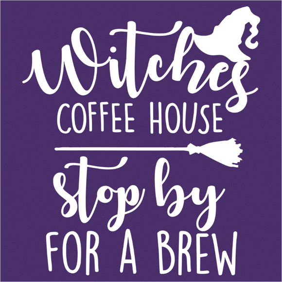 Witches Coffee House Stop By For A Brew - (DSN-15262)