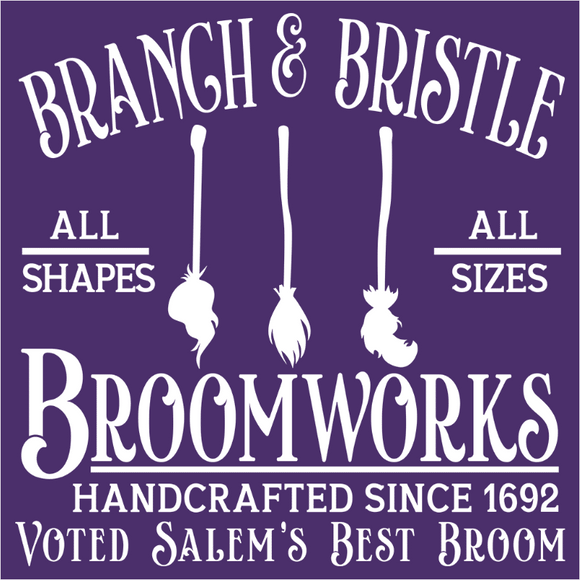Branch and Bristle Broomworks Shop - (DSN-14870)