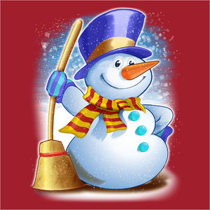 Happy Snowman - (DSN-10020)