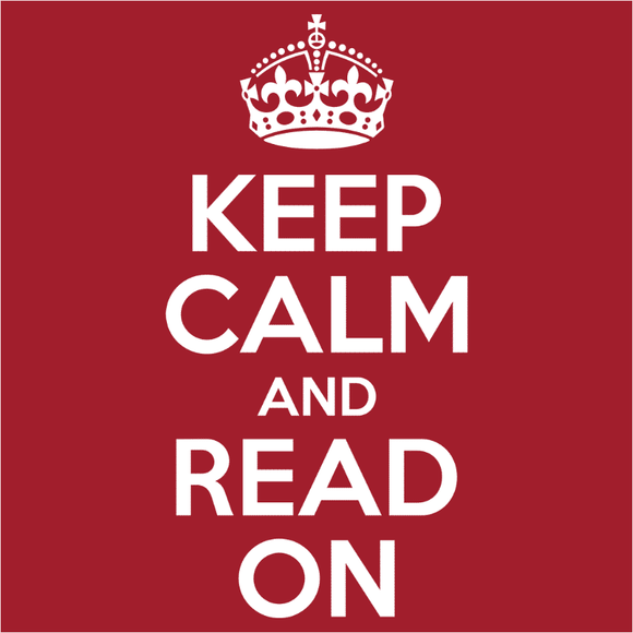Keep Calm and Read On - (DSN-10035)