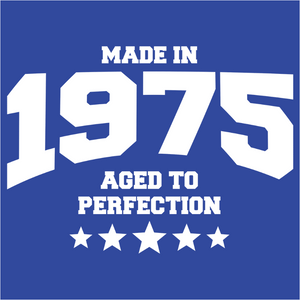 Athletic Aged to Perfection - 1975 - (DSN-10182)