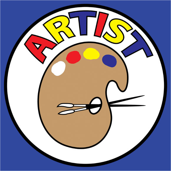 Artist Badge - (DSN-20099)
