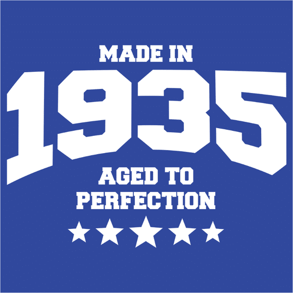 Athletic Aged to Perfection - 1935 - (DSN-10142)