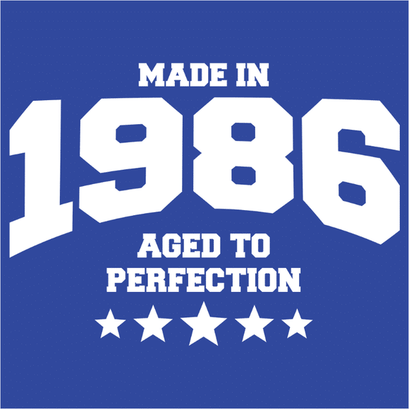 Athletic Aged to Perfection - 1986 - (DSN-10193)