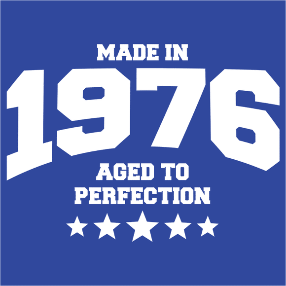 Athletic Aged to Perfection - 1976 - (DSN-10183)