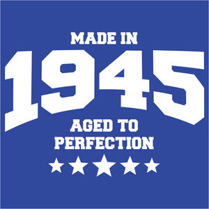 Athletic Aged to Perfection - 1945 - (DSN-10152)