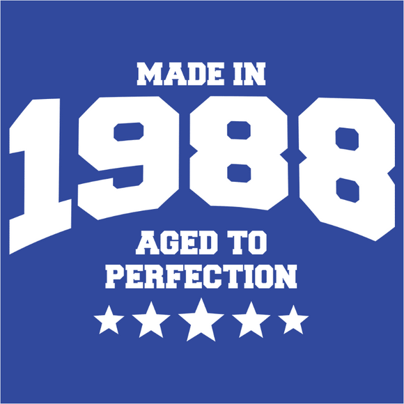 Athletic Aged to Perfection - 1988 - (DSN-10195)