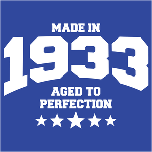 Athletic Aged to Perfection - 1933 - (DSN-10140)