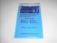 Tenderguard blister protection pads.