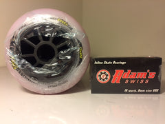 SAVE $24- 8 MPC Black Magic 100mm 16 Adams Swiss bearings.