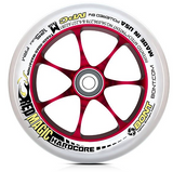 Bont Red Magic 125mm wheel xfirm