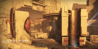 Alter of Flame Trials of osiris map