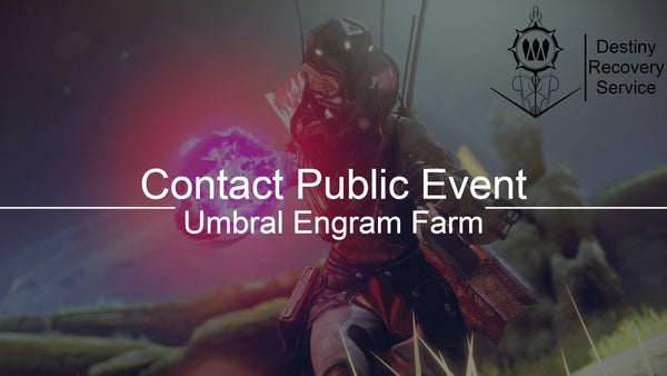 UMBRAL ENGRAM- Contact Public Event Engram Farm Guaranteed Drop - Destiny 2 Trials of Osiris Spare | DestinyRecoveryService | Destiny Recovery Service | Season of Arrivals | Shadowkeep |