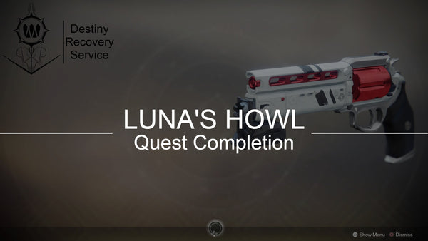 Luna's Howl Full Quest Completion - Destiny 2 Trials of Osiris Spare | DestinyRecoveryService | Destiny Recovery Service | Season of Arrivals | Shadowkeep |