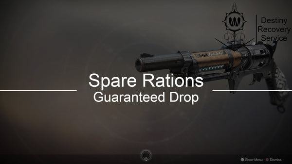 Spare Rations Weapon Farm - Destiny 2 Trials of Osiris Spare | DestinyRecoveryService | Destiny Recovery Service | Season of Arrivals | Shadowkeep |