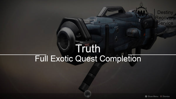 Truth Exotic Quest Completion - Destiny 2 Trials of Osiris Spare | DestinyRecoveryService | Destiny Recovery Service | Season of Arrivals | Shadowkeep |